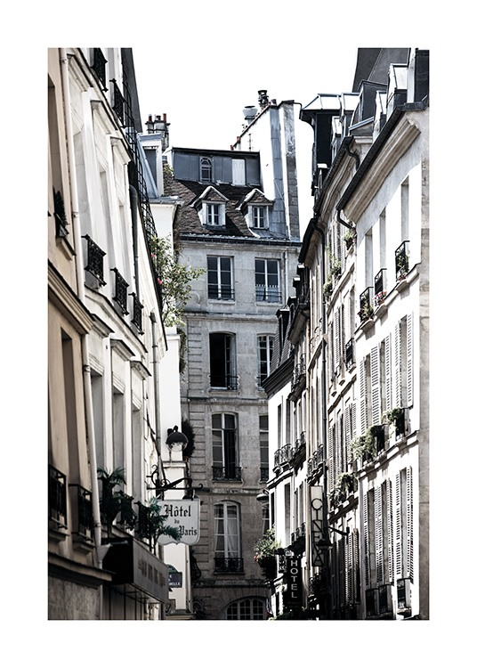 Paris Alley Poster / Photography at Desenio AB (11350)