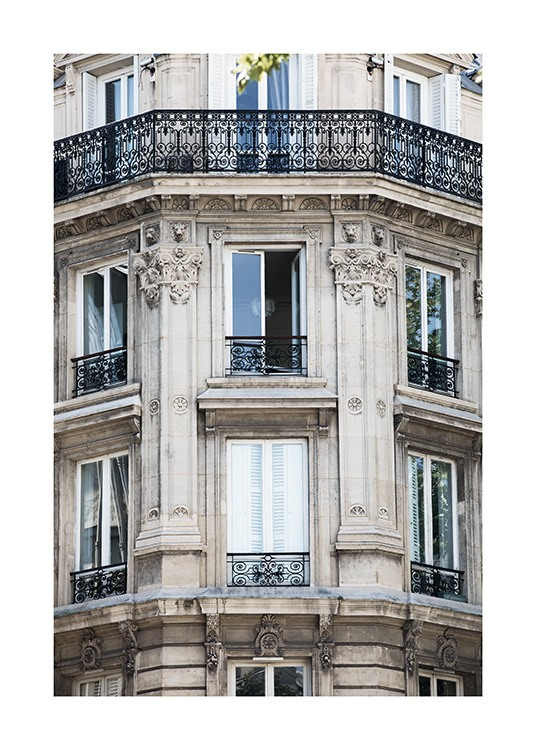 Paris Facade Poster / Photography at Desenio AB (11352)