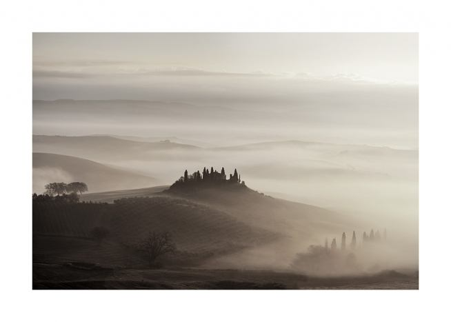 Tuscany Valley Poster / Nature at Desenio AB (11522)