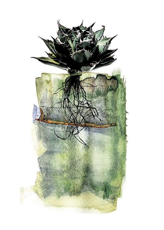 Agave Roots Poster / Art prints at Desenio AB (11564)