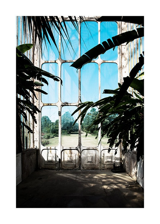 Window in Kew Garden Poster / Photography at Desenio AB (11592)