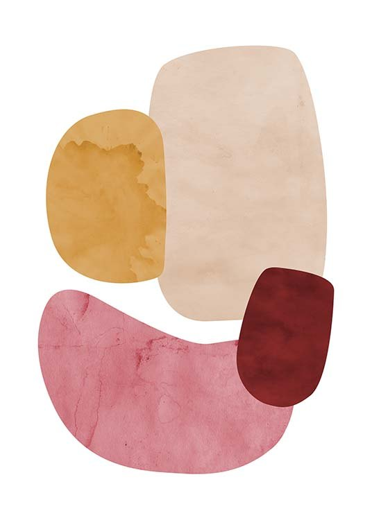 Color Shapes No2 Poster / Art prints at Desenio AB (11694)