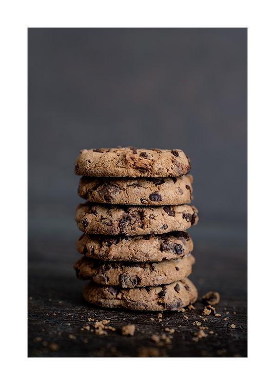Chocolate Cookies Poster / Kitchen at Desenio AB (11826)