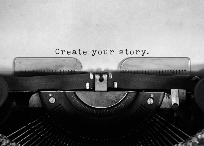 Create Your Story Poster / Text posters at Desenio AB (11952)