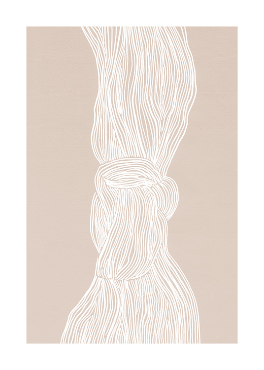 White Flow Poster / Art prints at Desenio AB (12509)