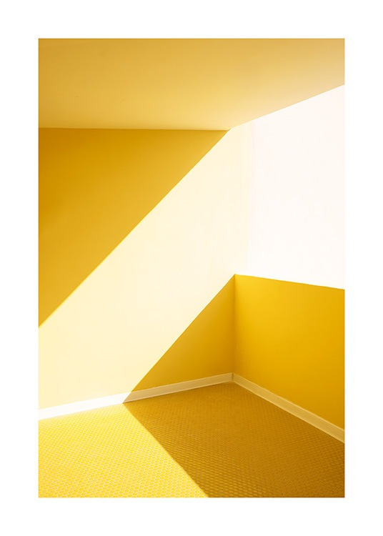 Yellow Balcony Poster / Photography at Desenio AB (12768)