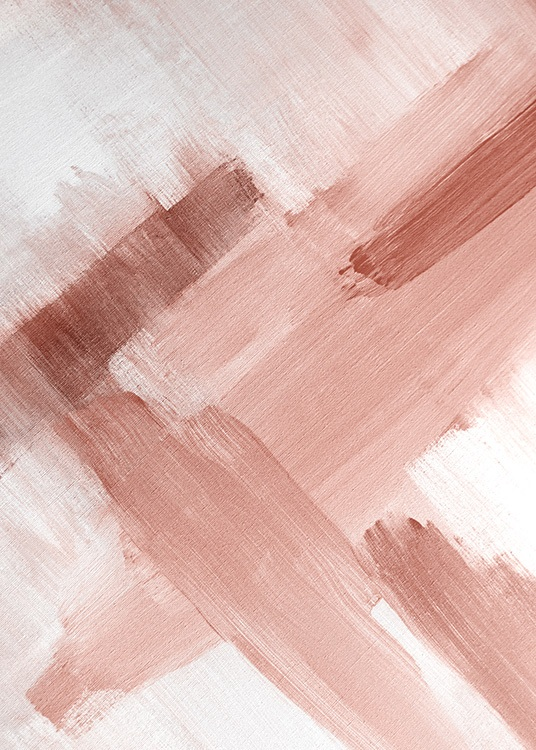 Abstract Painting Pink No2 Poster / Art prints at Desenio AB (12895)