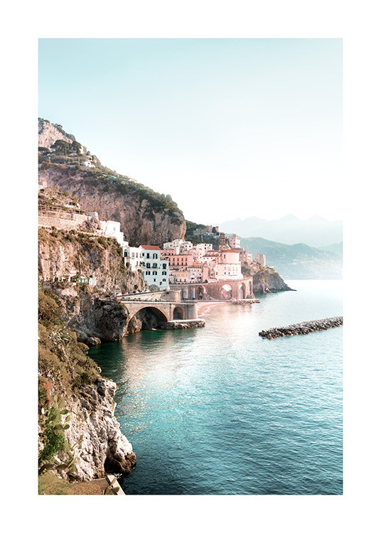 Amalfi View Poster / Nature at Desenio AB (12930)