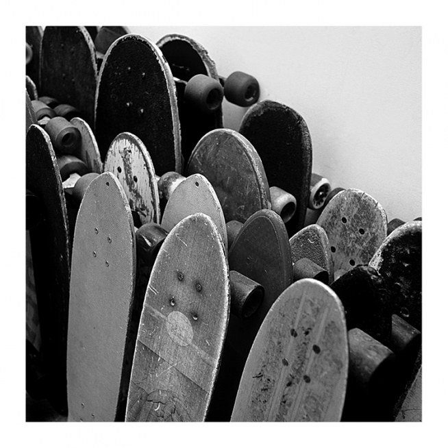 Rows Of Skateboards Poster / Kids posters at Desenio AB (2067)