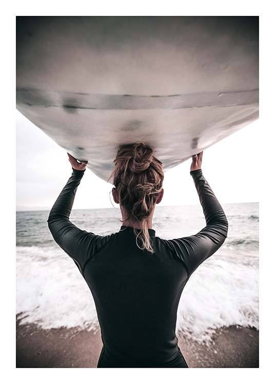 Catch The Waves  Poster / Photography at Desenio AB (2255)
