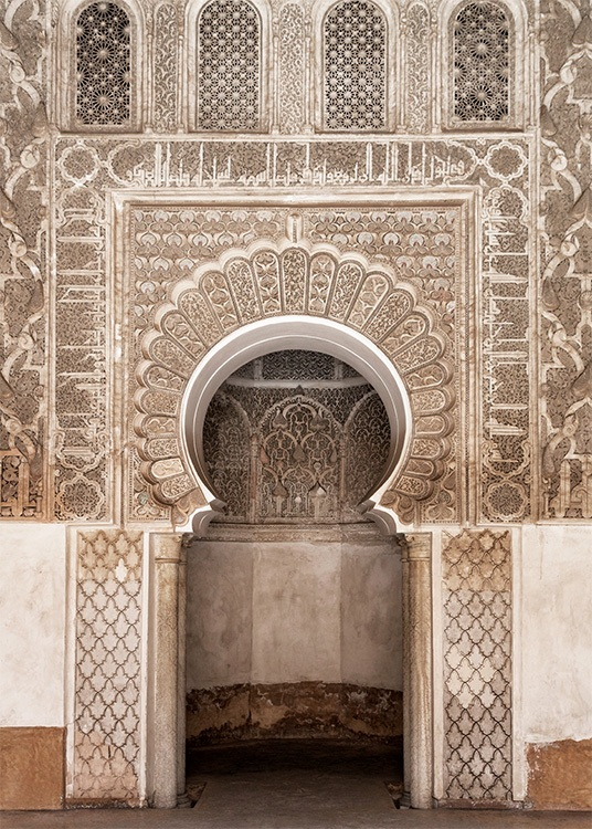 Marrakech Arch Poster / Photography at Desenio AB (2418)