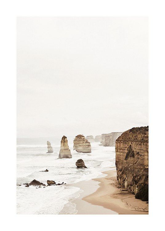 Twelve Apostles Poster / Nature at Desenio AB (2708)