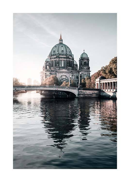 Berlin River Poster / Photography at Desenio AB (2753)