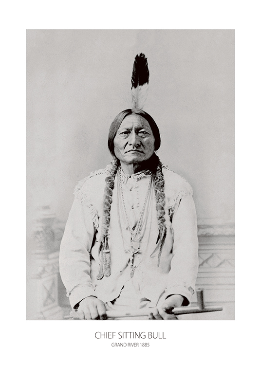 Sitting Bull, Posters / Photography at Desenio AB (7380)