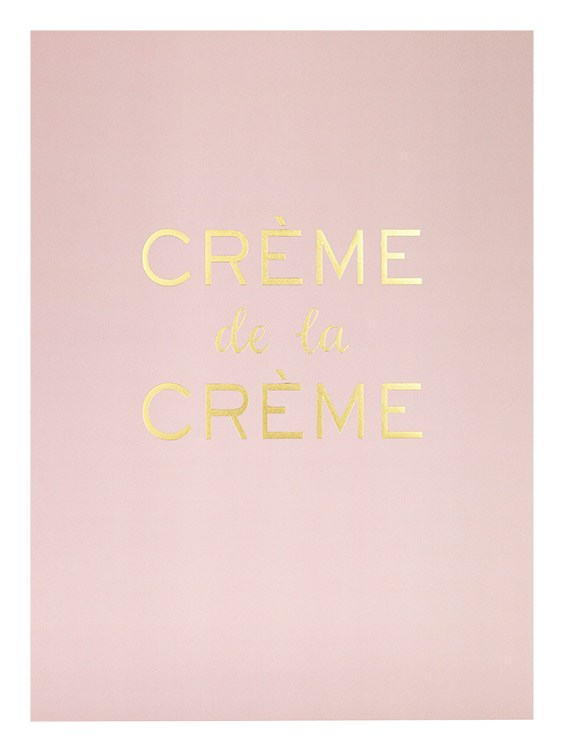 Creme De La Creme, Poster / Fashion at Desenio AB (7874)