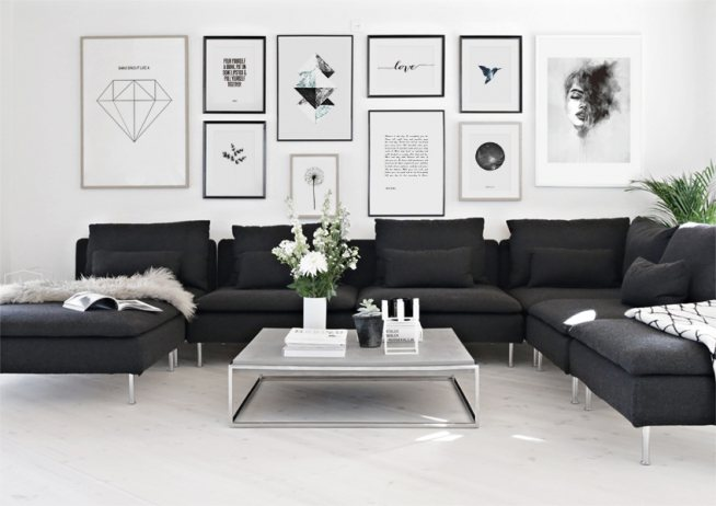 scandinavian art posters desenio. Black Bedroom Furniture Sets. Home Design Ideas