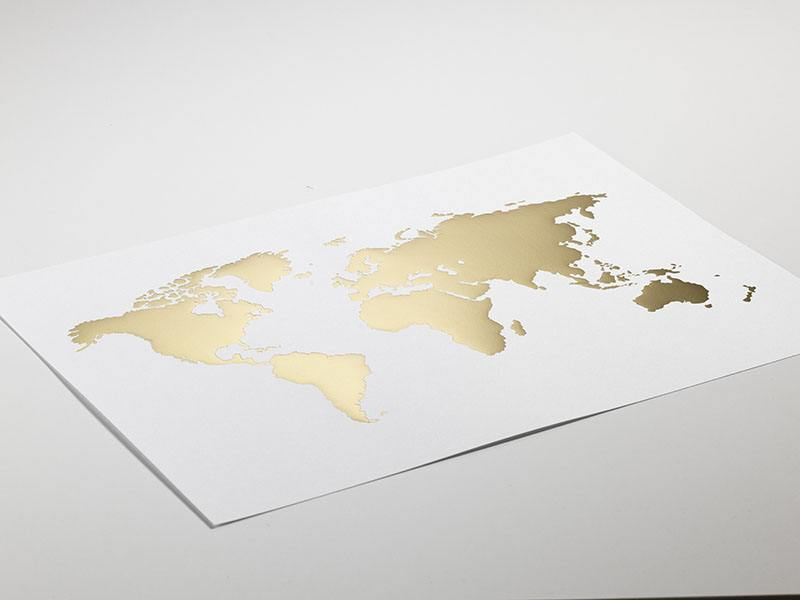 World map poster posters with gold brass interior design poster med vrldskarta gumiabroncs Image collections