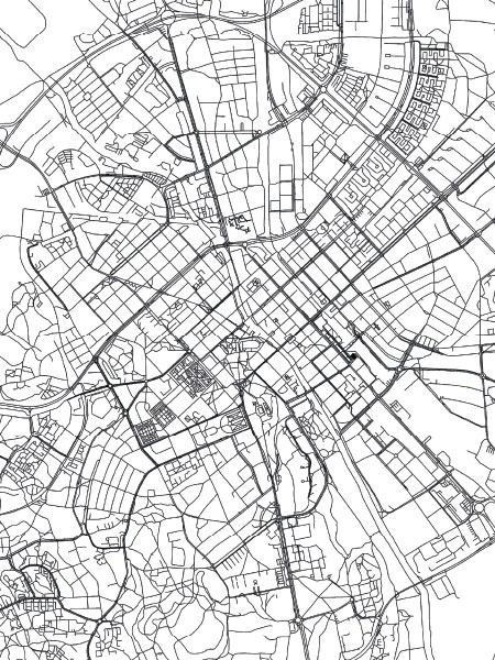 Poster Of Uppsala Map Posters Online