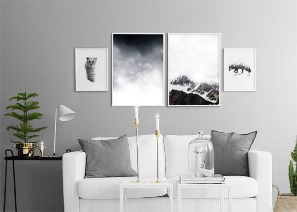 Prints for decor neat posters online with wolves - Poster schlafzimmer ...