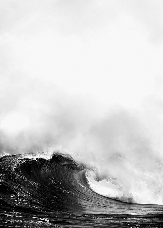 Poster With Photo Of Ocean Wave Posters With Photo Art