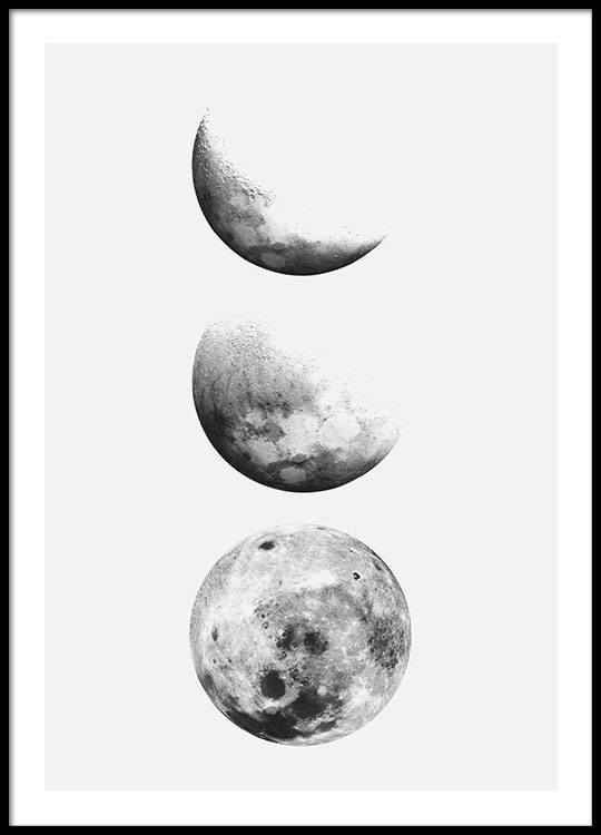 Posters of the moon buy posters online for a good price for Photography prints to buy