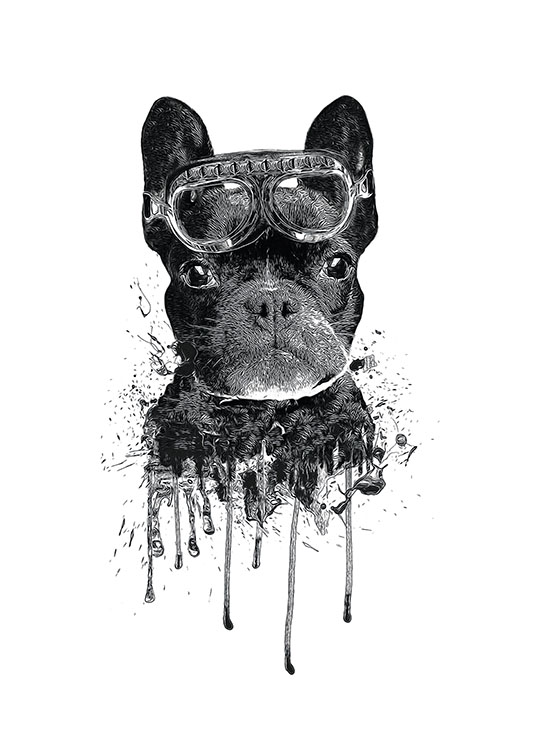 Cute Children S Poster Of A Dog Modern For Children And