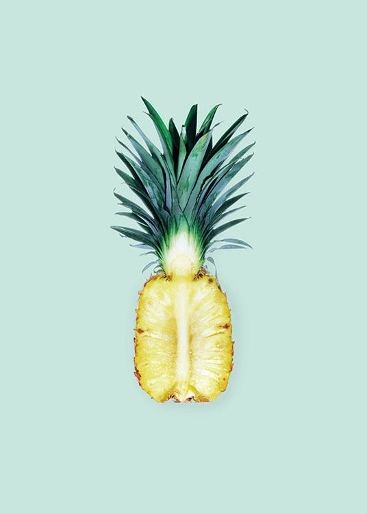 Pineapple, Poster / Kitchen at Desenio AB (8262)