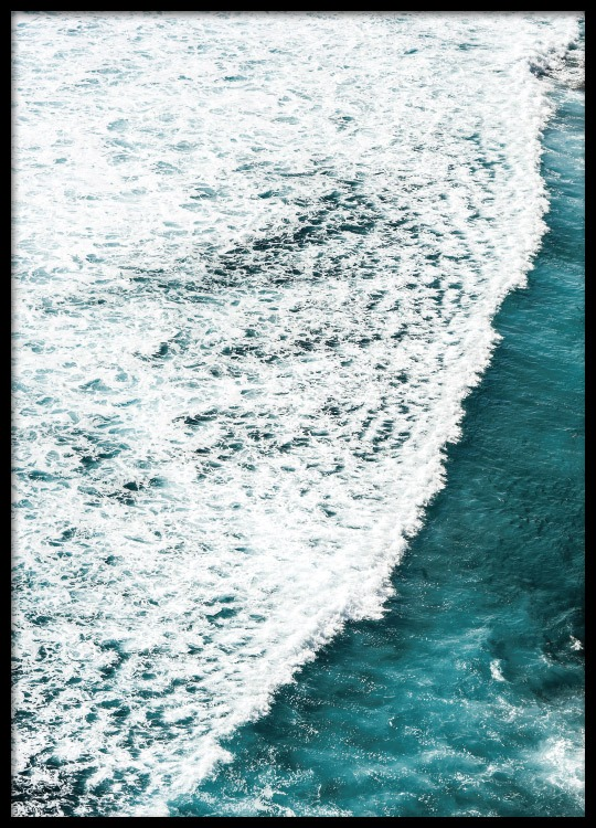 Poster with a photo of the ocean | Posters Photo art| Desenio