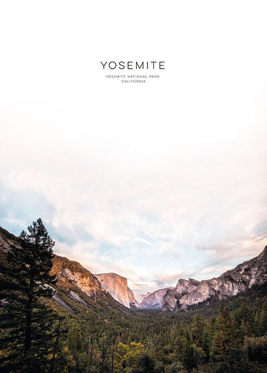 Yosemite, Posters / Text posters at Desenio AB (8566)