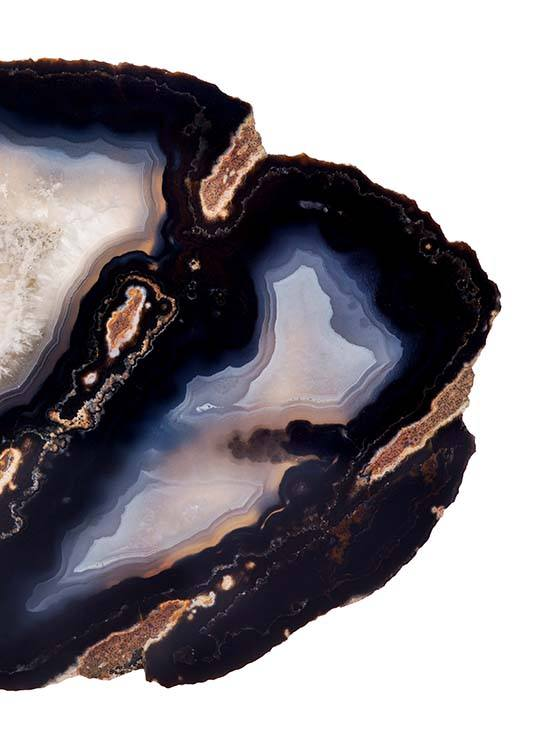 Dark Agate Two Poster / Photography at Desenio AB (8824)