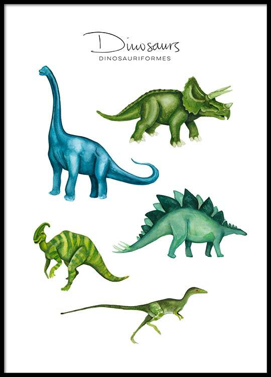 Dinosaurs poster gumiabroncs Images