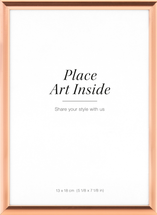 Copper picture frame 13x18cm, small frames online