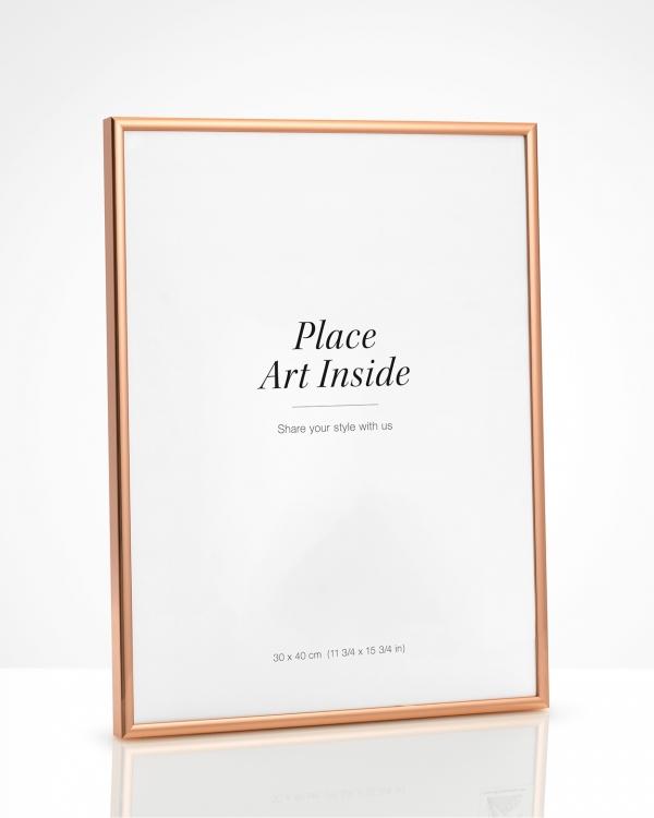 Copper Picture Frame 30x40cm Buy Frames Online Desenio