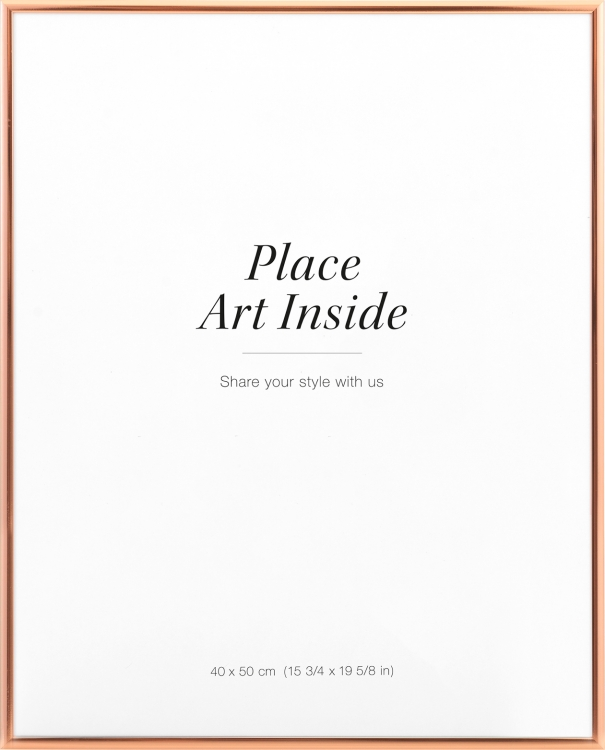 Picture frame Copper, 40x50