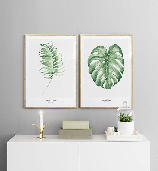 Wall art with Scandinavian design - Art pictures from ...