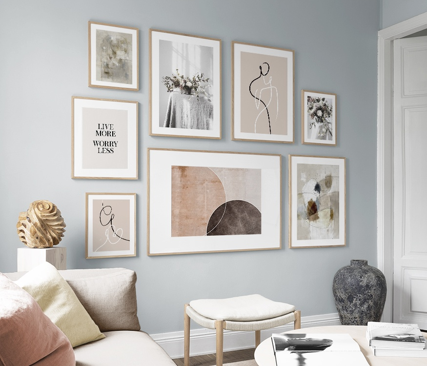 Mindful prints makes a mindful home