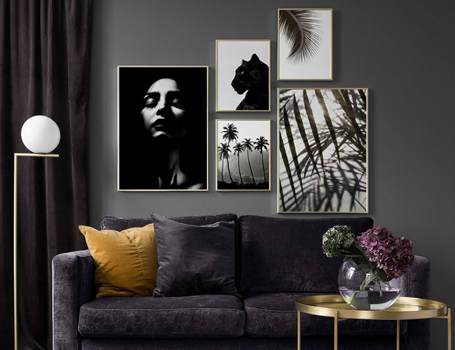 Decorate Your Home With Personality Create Your Own Gallery Wall