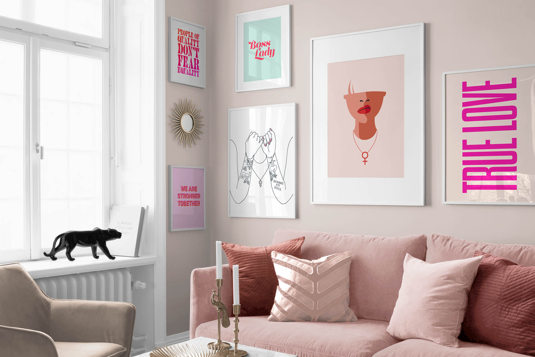 ON TREND: FUN AND PLAYFUL WALL ART