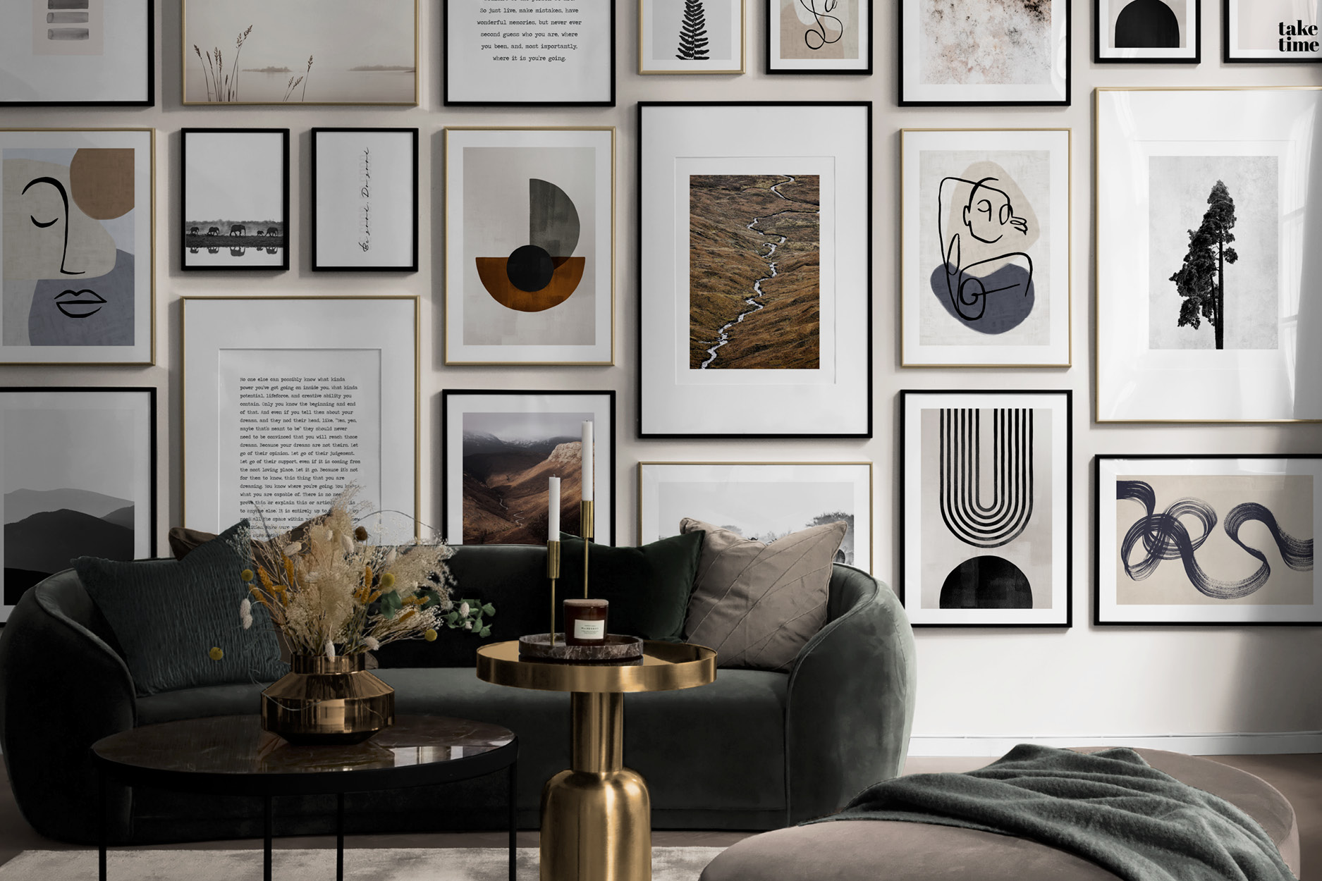 3 NEW WAYS TO CREATE A GALLERY WALL